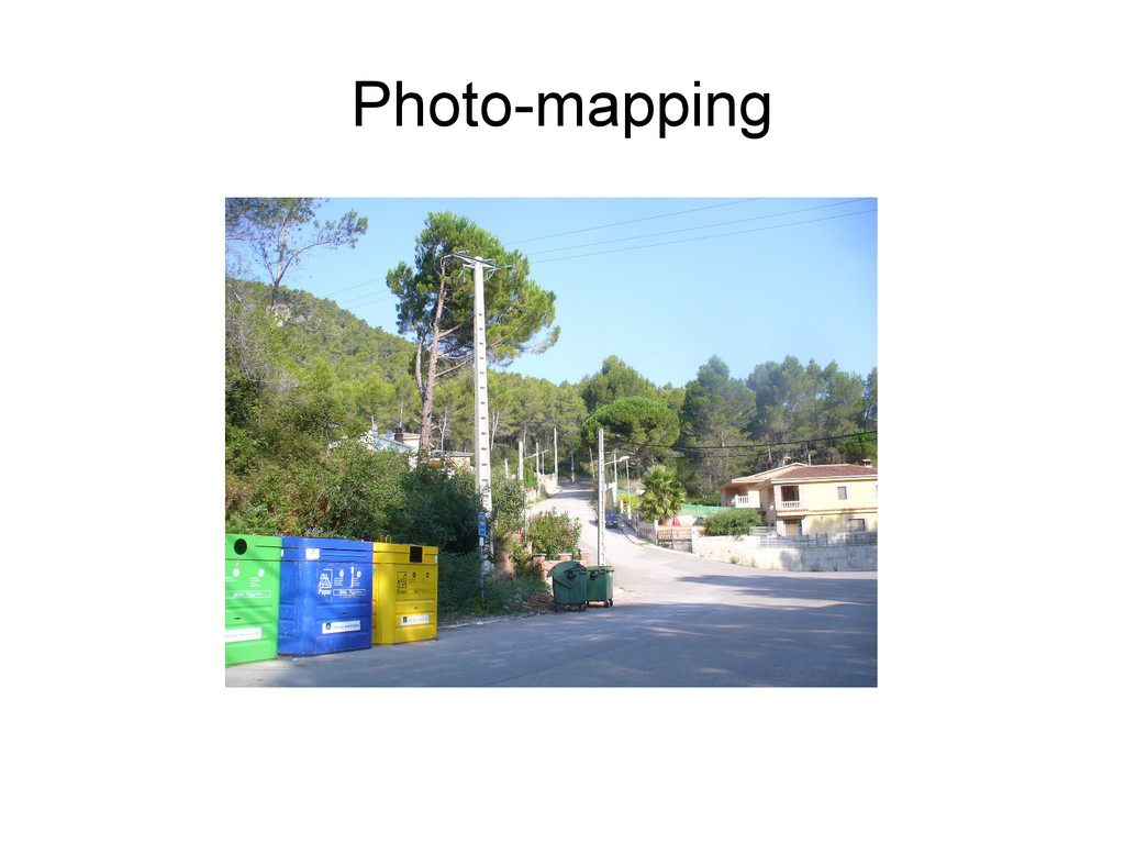 Photo-mapping