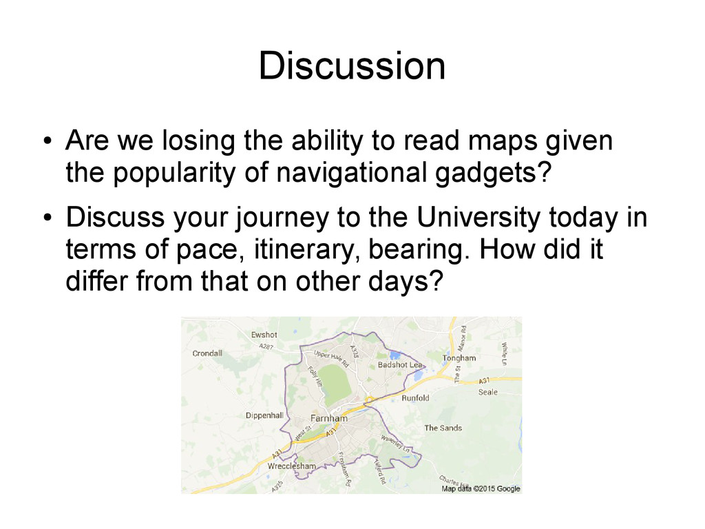 Discussion ● Are we losing the ability to read ...