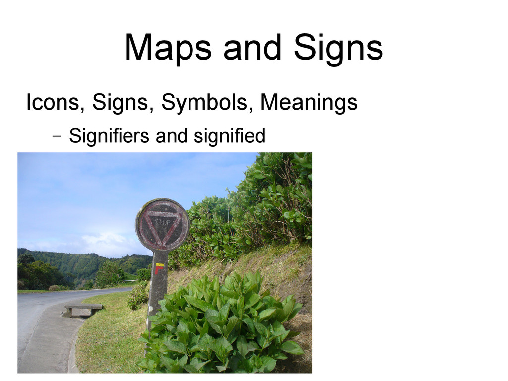 Maps and Signs Icons, Signs, Symbols, Meanings ...