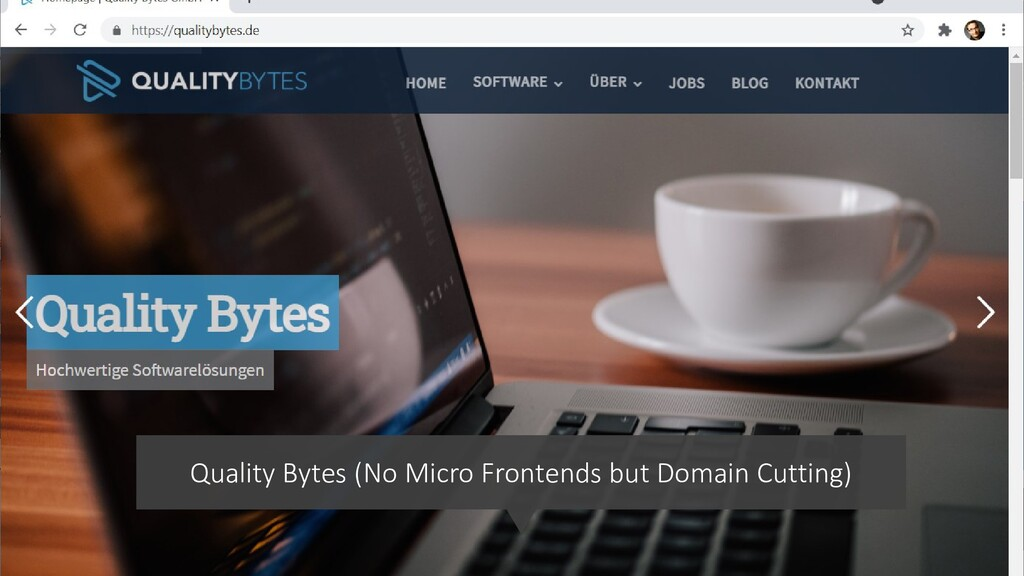 @ManfredSteyer Quality Bytes (No Micro Frontend...