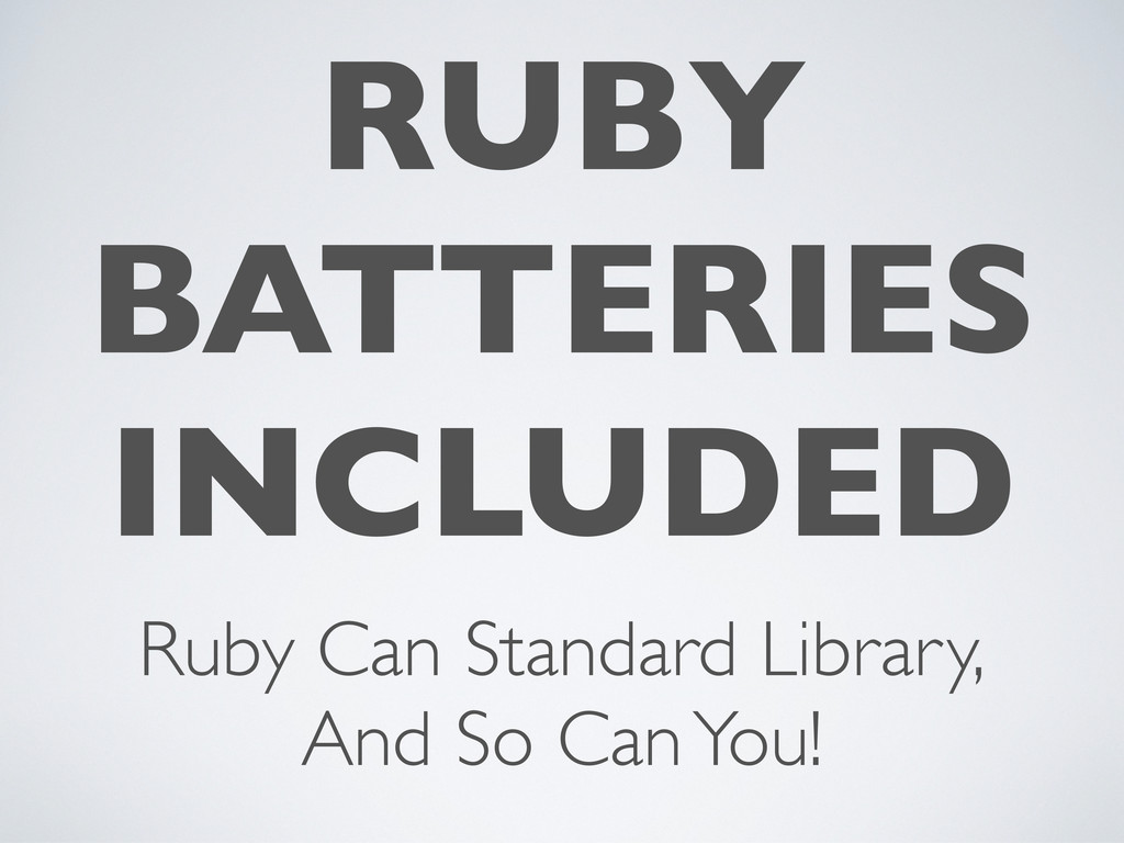 RUBY BATTERIES INCLUDED Ruby Can Standard Libra...