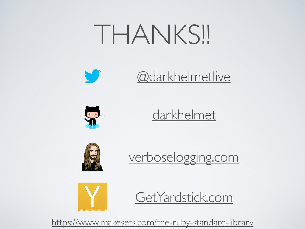 THANKS!! @darkhelmetlive darkhelmet verboselogg...