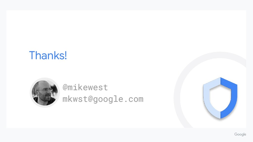 Thanks! @mikewest mkwst@google.com
