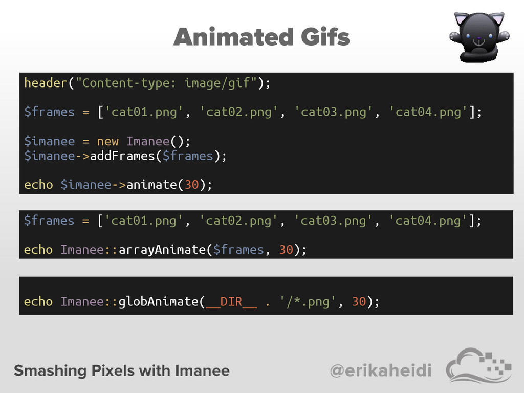 """Animated Gifs header(""""Content-type: image/gif"""")..."""