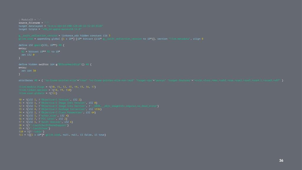 "; ModuleID = '-' source_filename = ""-"" target d..."