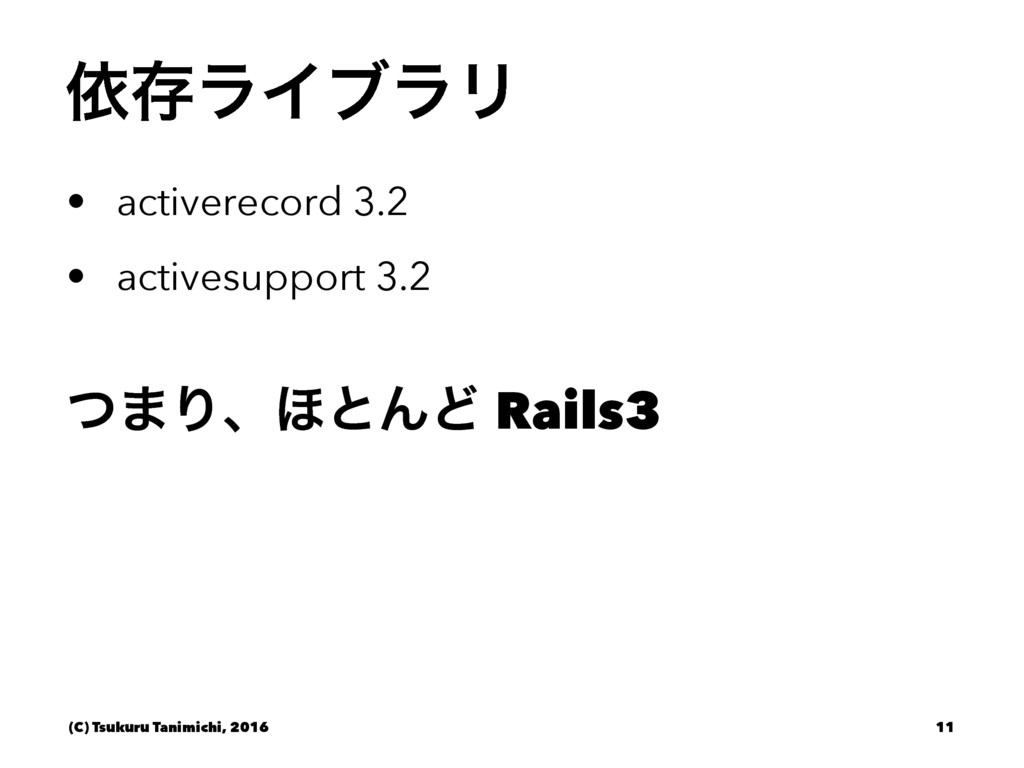ґଘϥΠϒϥϦ • activerecord 3.2 • activesupport 3.2 ...