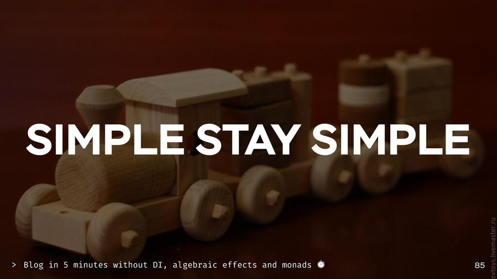 SIMPLE STAY SIMPLE 85 Blog in 5 minutes without...