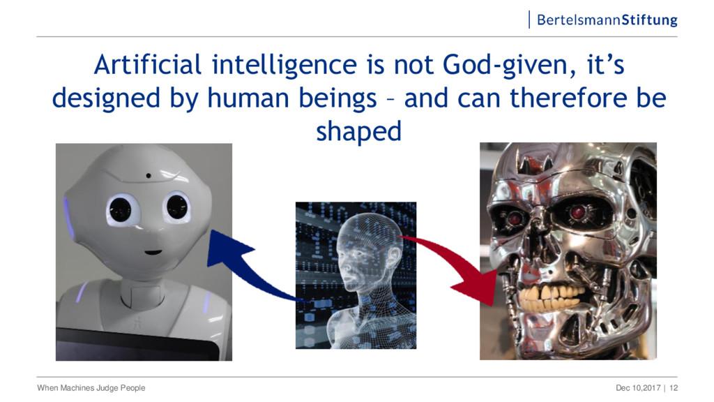 Dec 10,2017 | When Machines Judge People 12 Art...