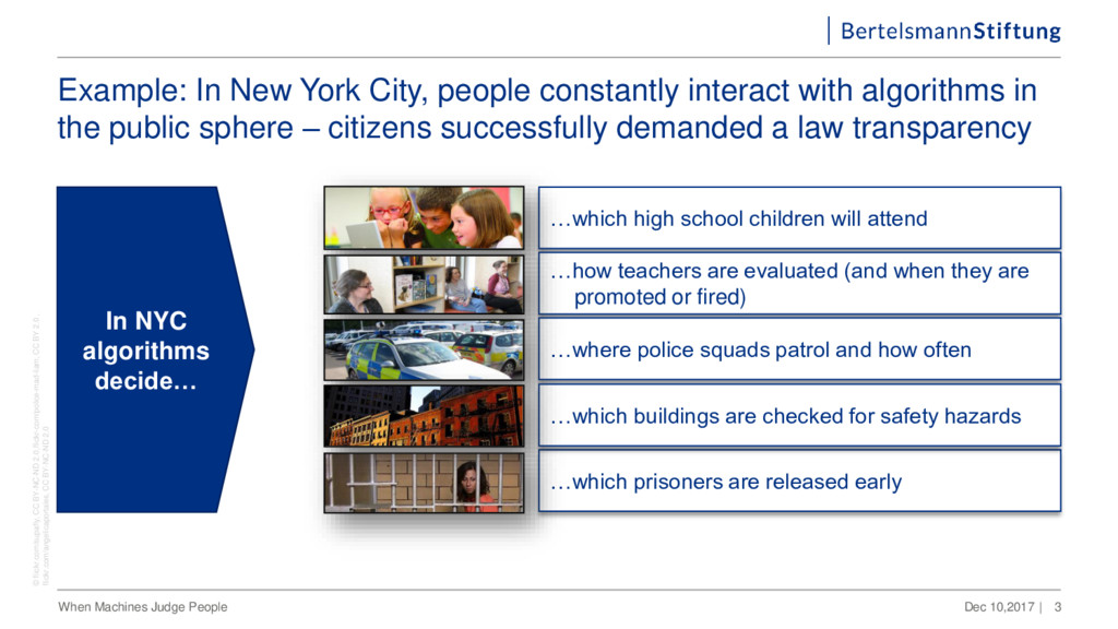 Example: In New York City, people constantly in...