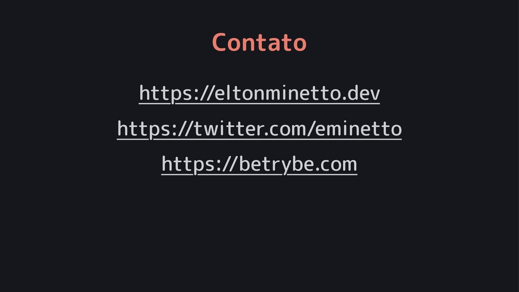 Contato https://eltonminetto.dev https://twitte...
