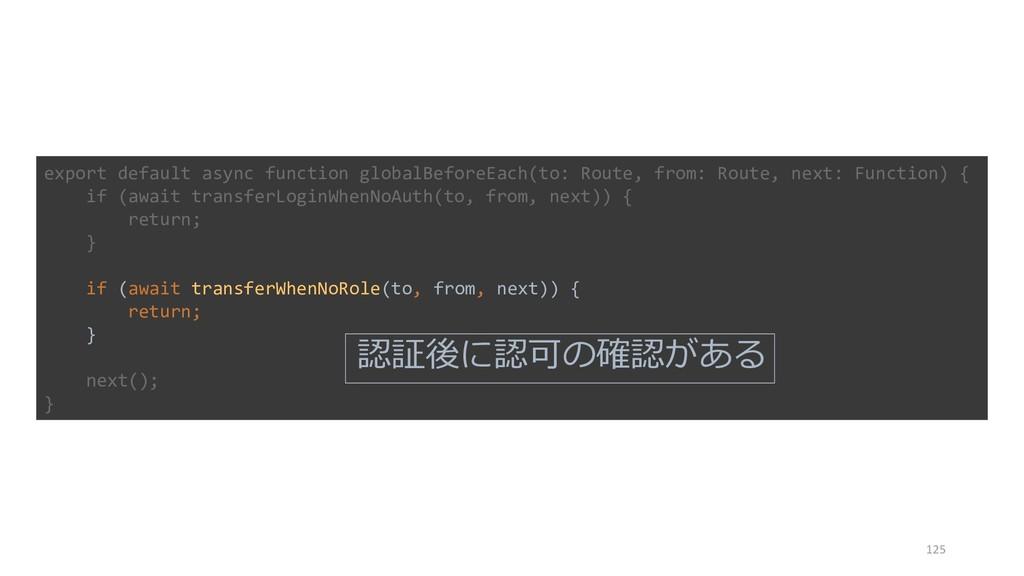 125 export default async function globalBeforeE...