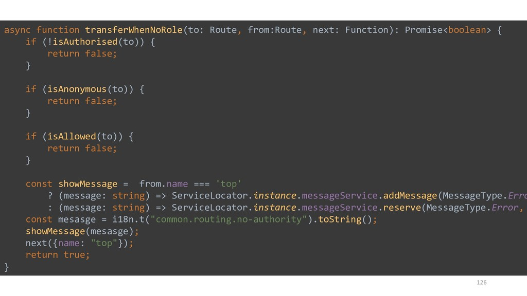 126 async function transferWhenNoRole(to: Route...