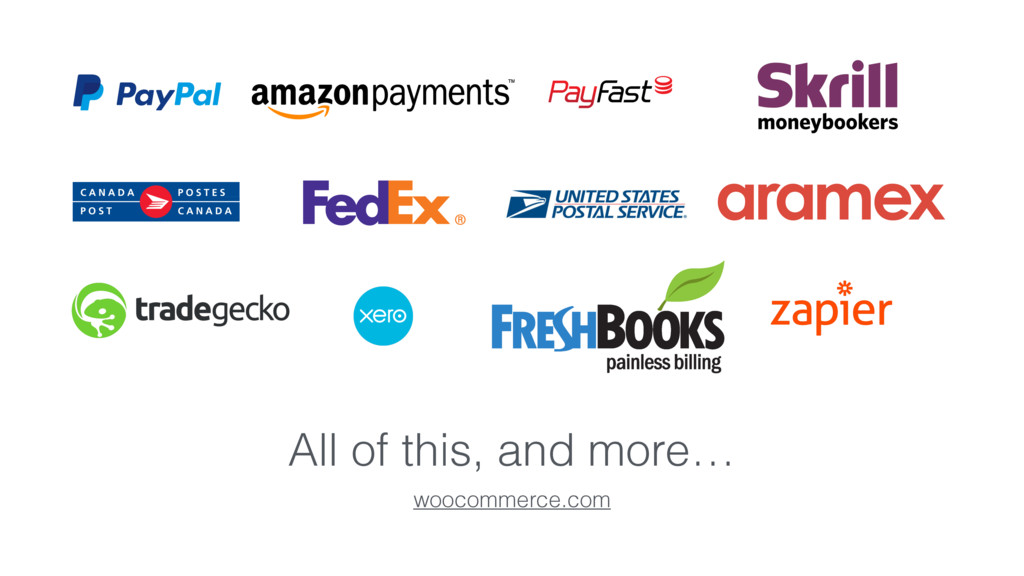 All of this, and more… woocommerce.com