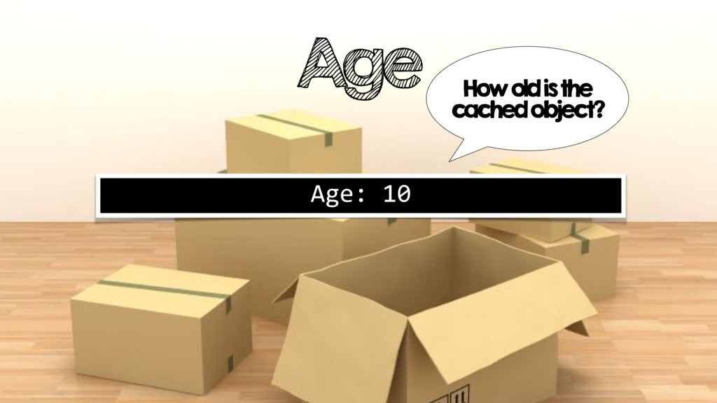 Age Age: 10 How old is the cached object?