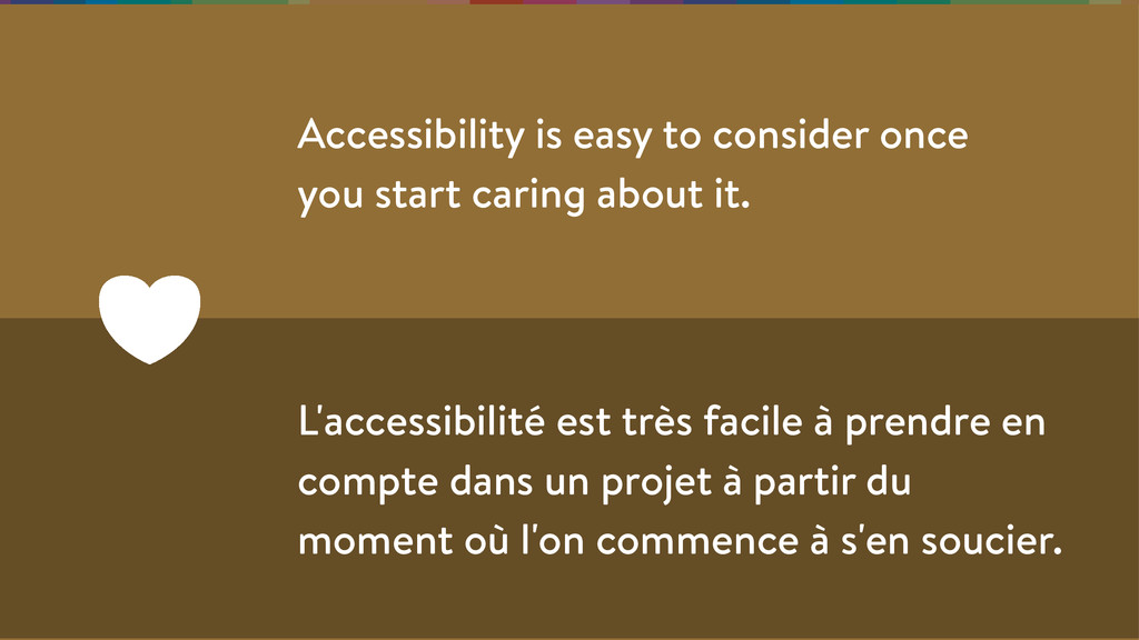 Accessibility is easy to consider once you star...