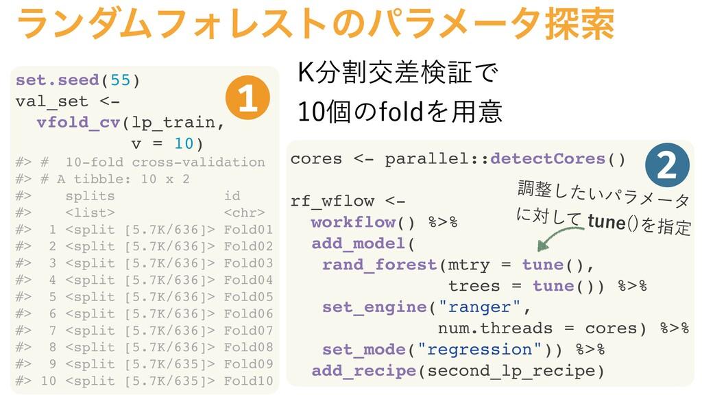 set.seed(55) val_set <- vfold_cv(lp_train, v = ...