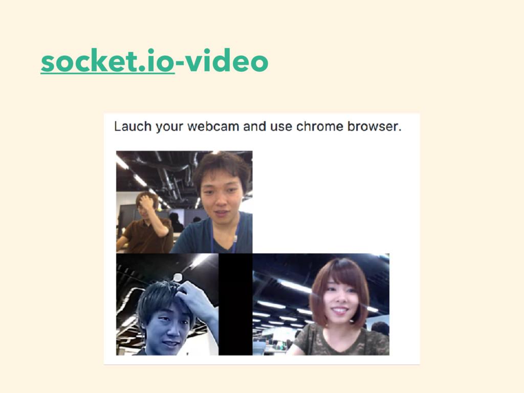 socket.io-video