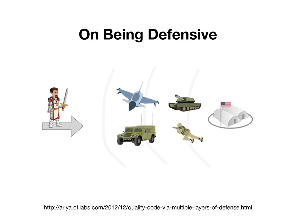 On Being Defensive http://ariya.ofilabs.com/201...