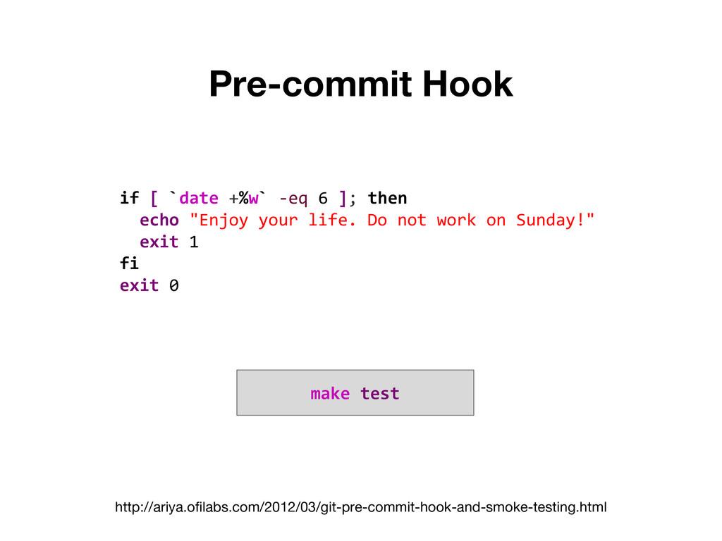 Pre-commit Hook http://ariya.ofilabs.com/2012/0...