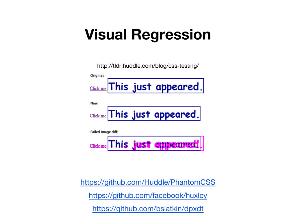 Visual Regression http://tldr.huddle.com/blog/c...