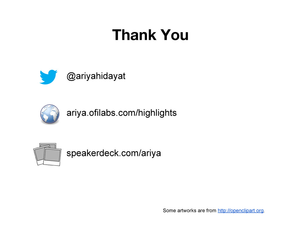 Thank You @ariyahidayat ariya.ofilabs.com/highl...