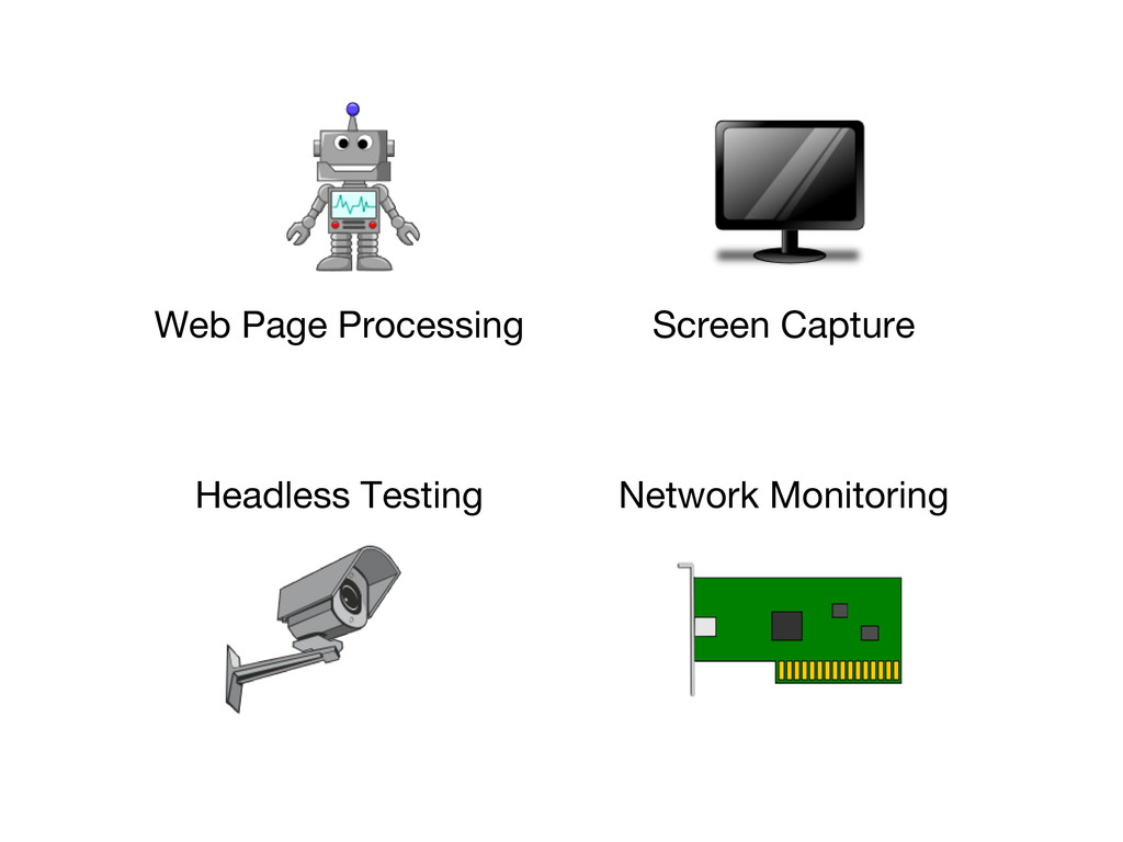 Web Page Processing Screen Capture Headless Tes...