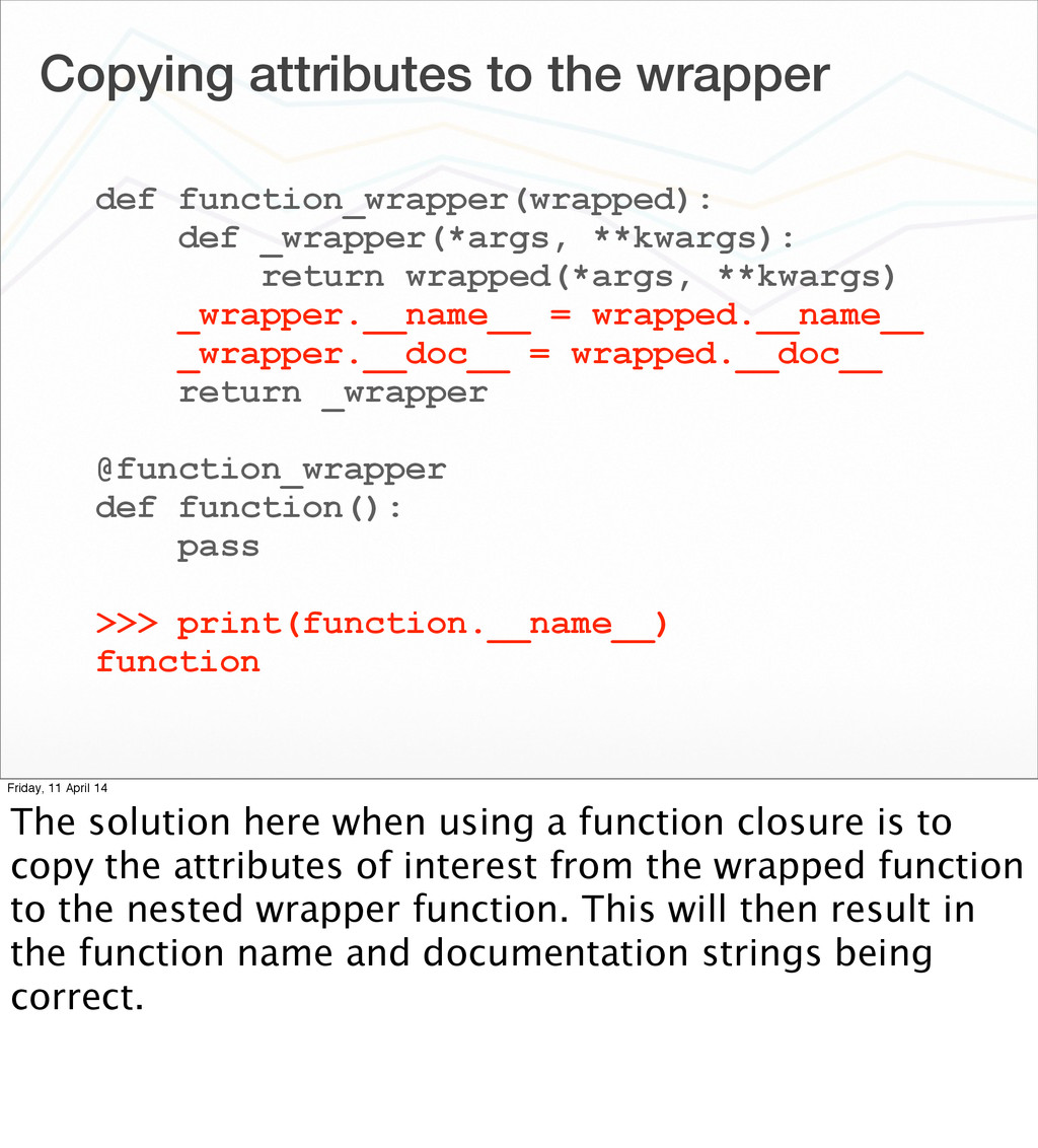 Copying attributes to the wrapper def function_...