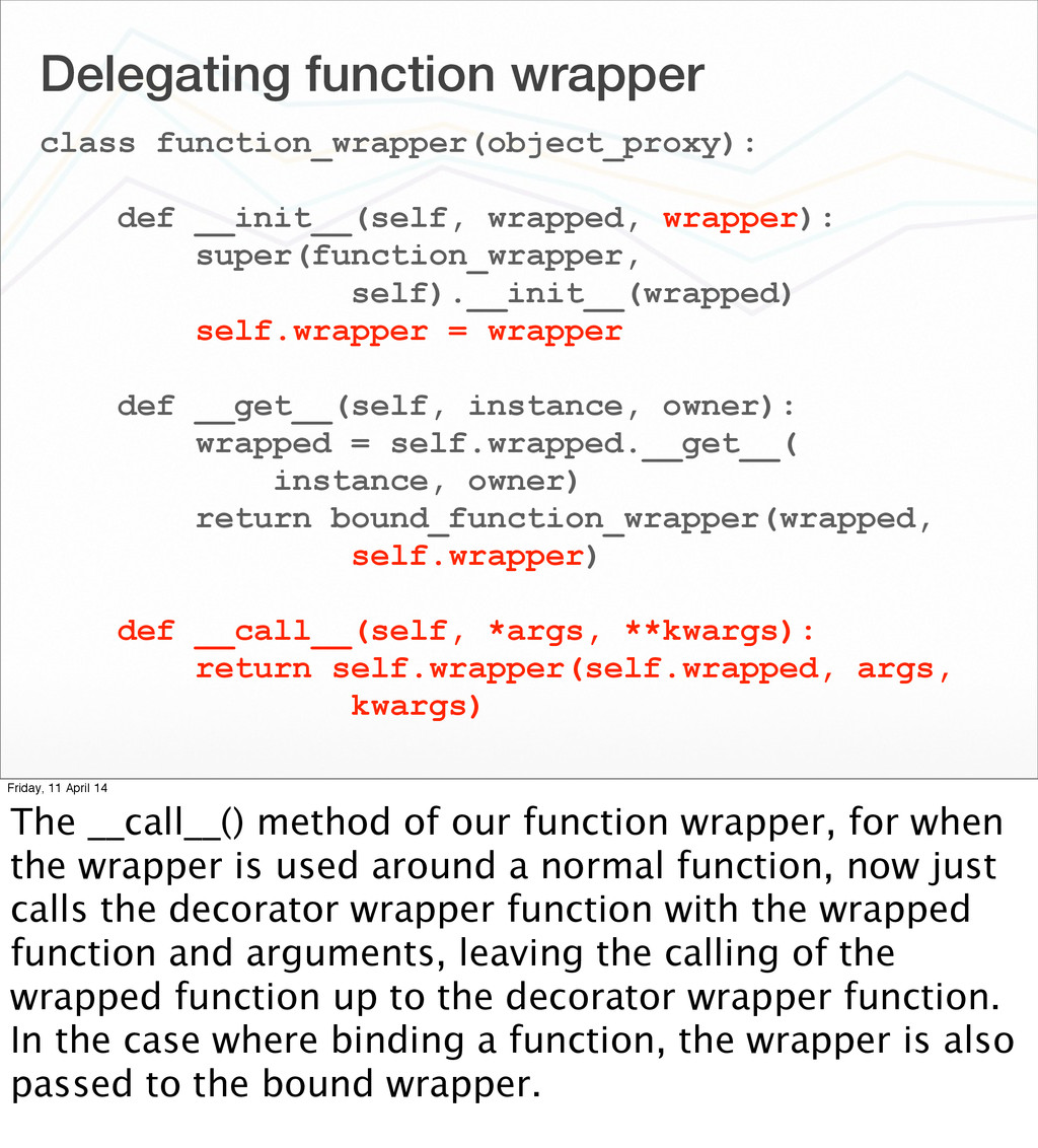 Delegating function wrapper class function_wrap...