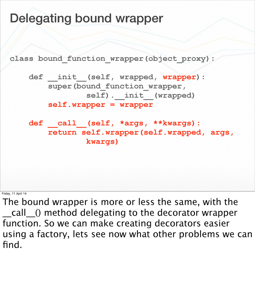 Delegating bound wrapper class bound_function_w...