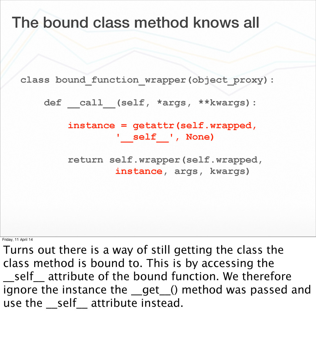 The bound class method knows all class bound_fu...