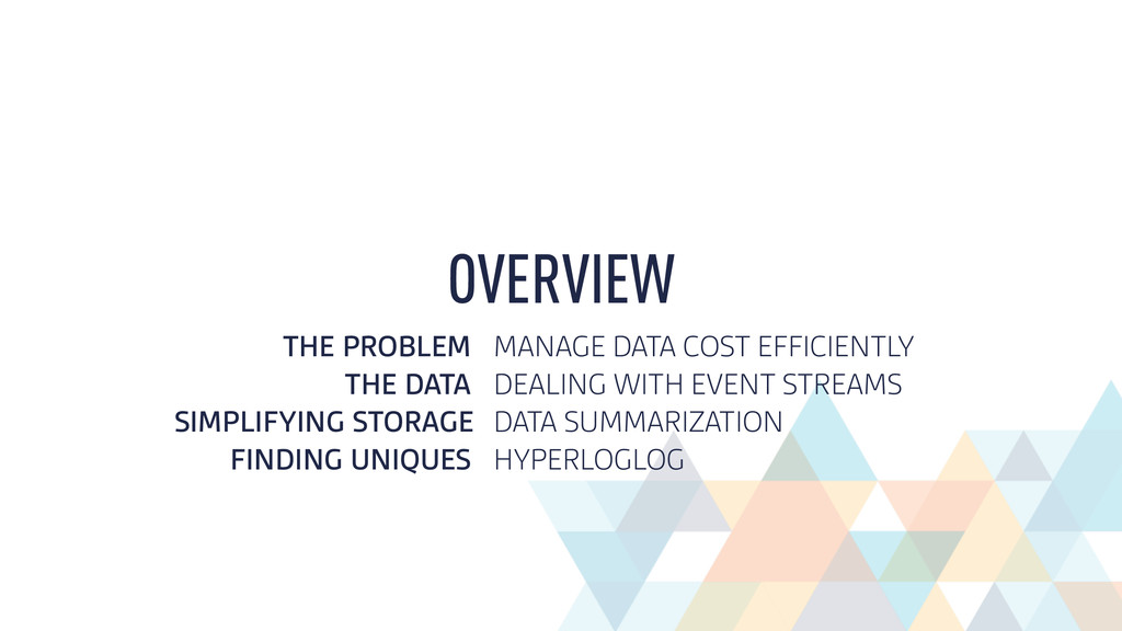 THE PROBLEM MANAGE DATA COST EFFICIENTLY THE DA...