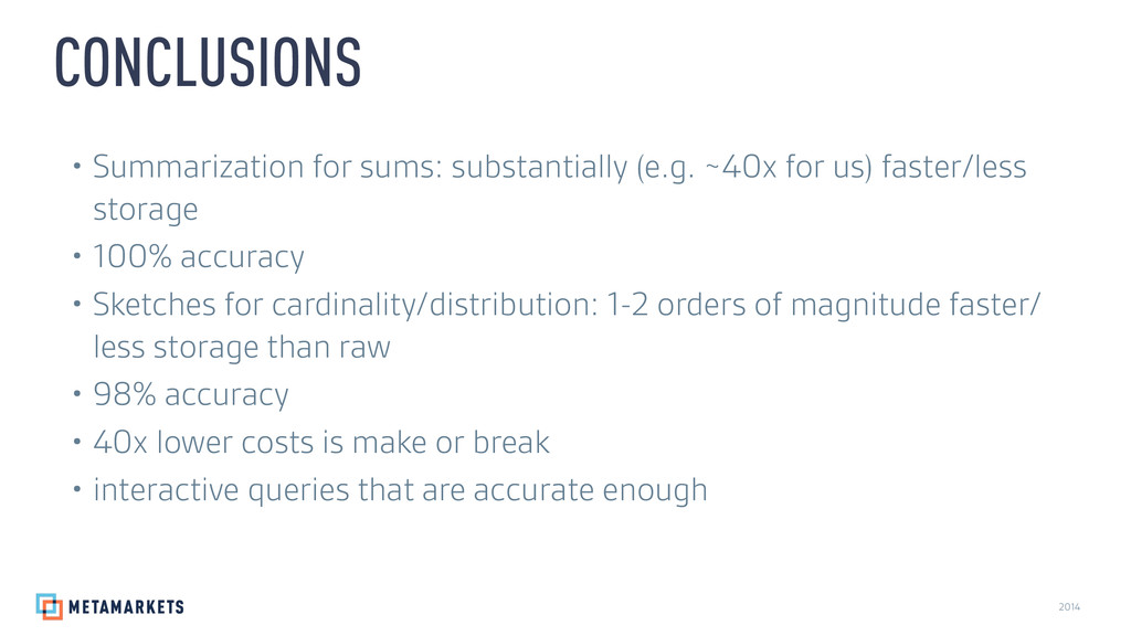 2014 • Summarization for sums: substantially (e...