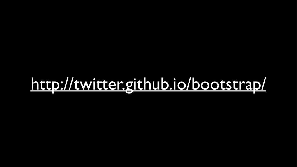 http://twitter.github.io/bootstrap/