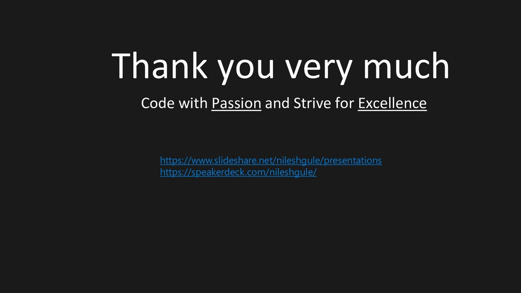 Thank you very much Code with Passion and Striv...