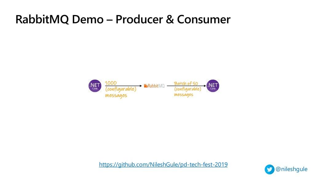@nileshgule RabbitMQ Demo – Producer & Consumer...