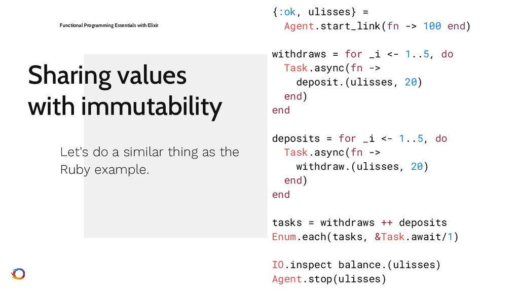 Sharing values with immutability Functional Pro...