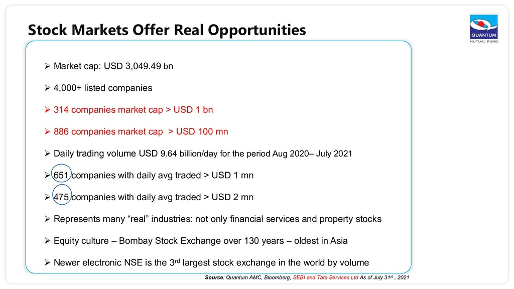 Stock Markets Offer Real Opportunities  Market...
