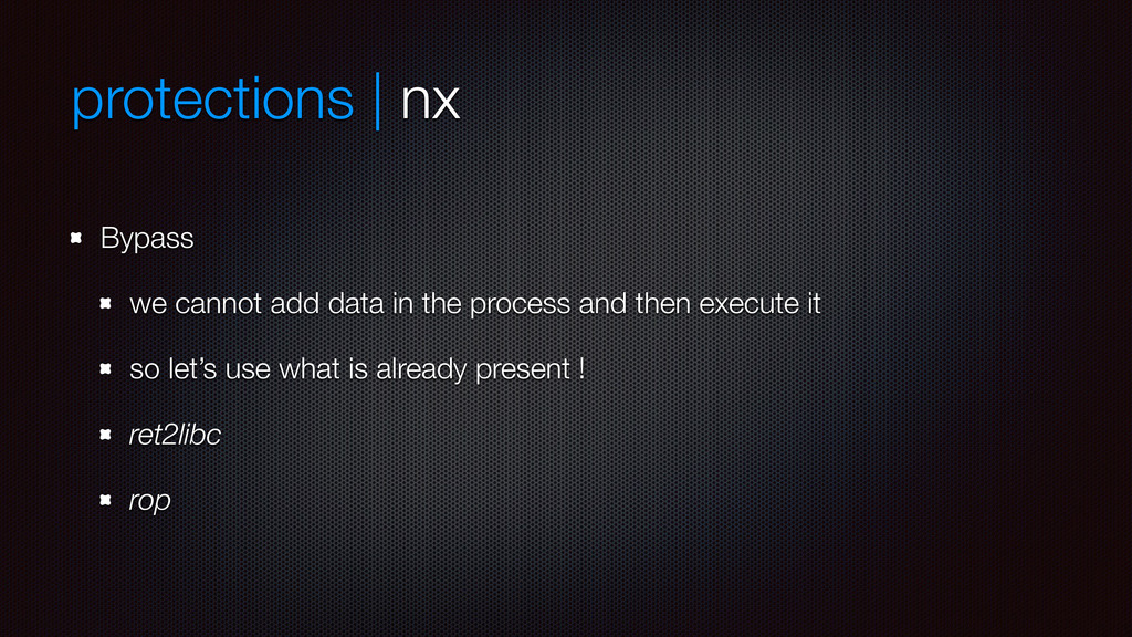 protections | nx Bypass we cannot add data in t...