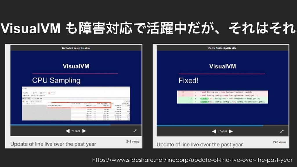 VisualVM োରԠͰ׆༂த͕ͩɺͦΕͦΕ https://www.slidesha...