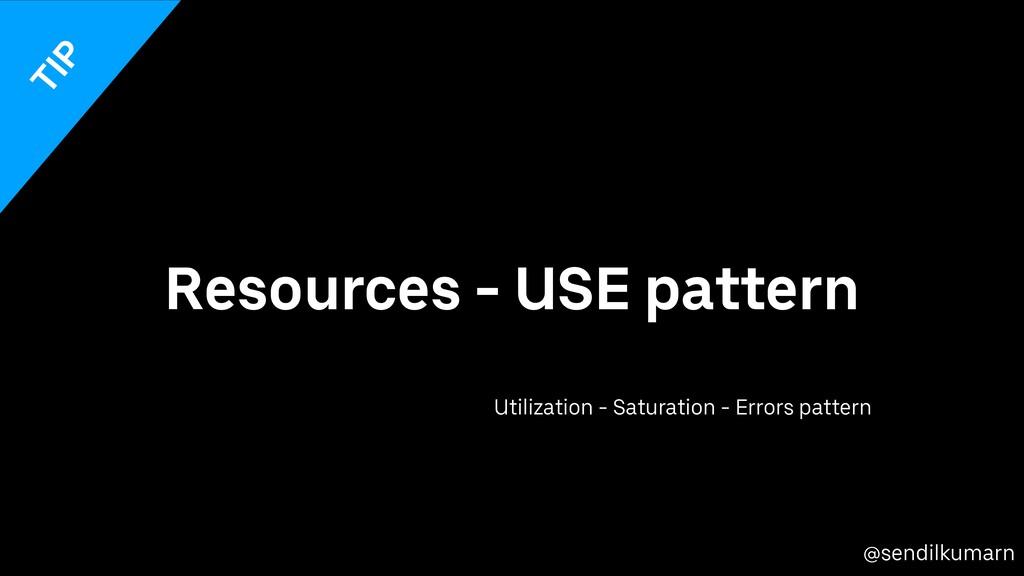 @sendilkumarn Resources - USE pattern Utilizati...