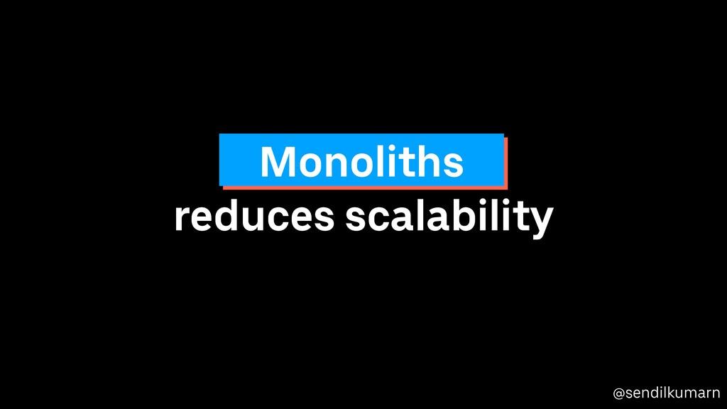 @sendilkumarn reduces scalability Monoliths