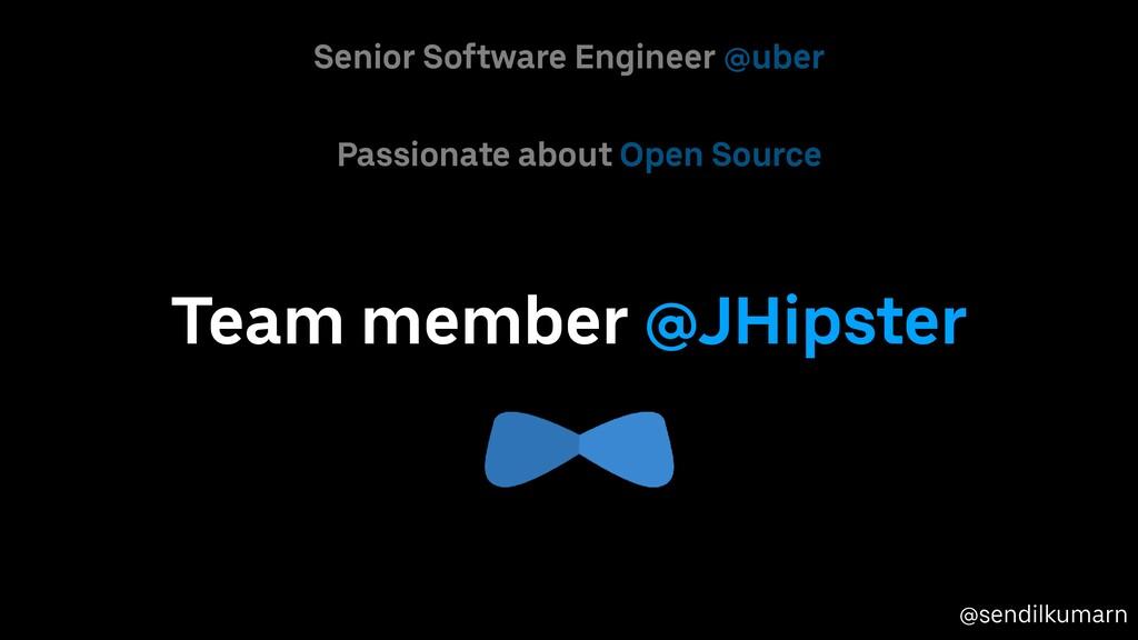 @sendilkumarn Passionate about Open Source Seni...