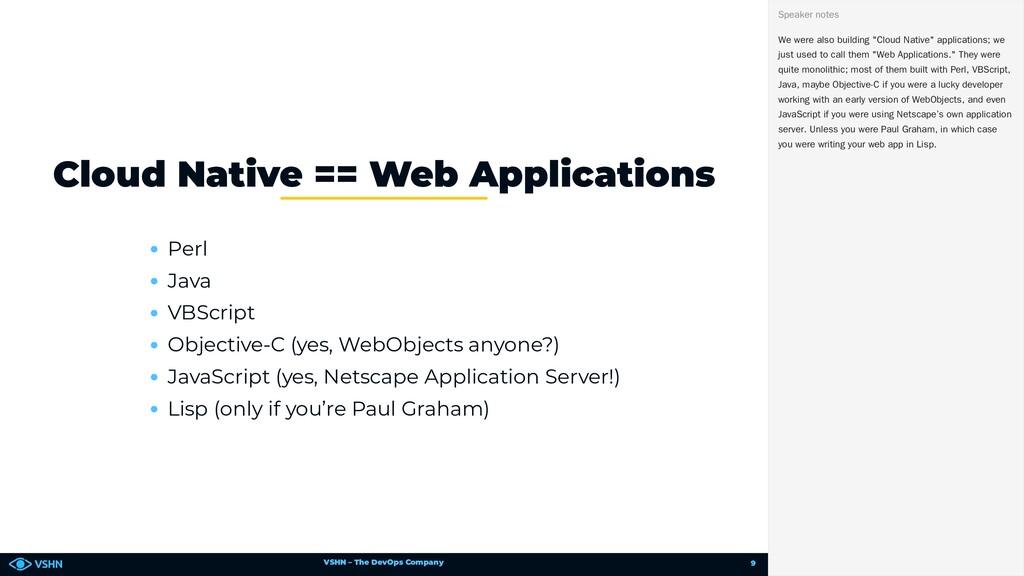 VSHN – The DevOps Company Perl Java VBScript Ob...