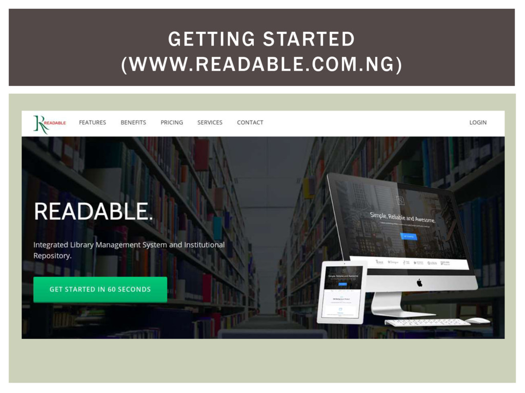 GETTING STARTED (WWW.READABLE.COM.NG)