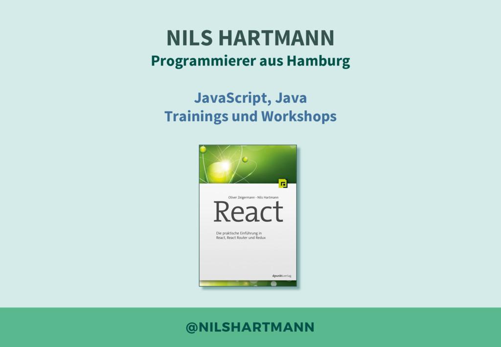 @NILSHARTMANN NILS HARTMANN Programmierer aus H...