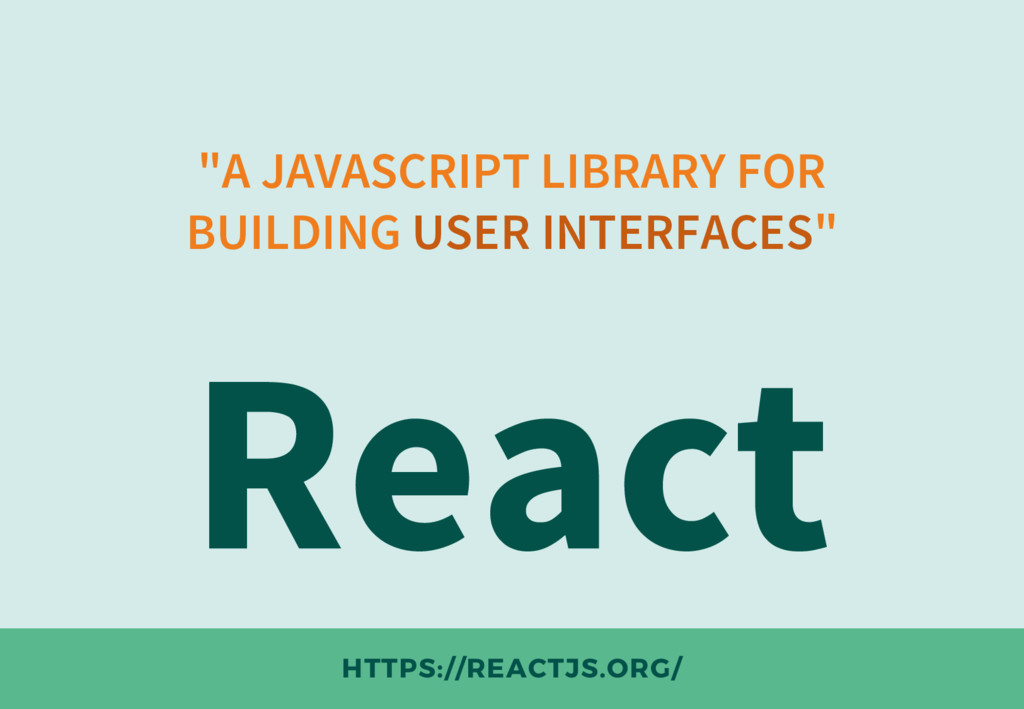 """""""A JAVASCRIPT LIBRARY FOR BUILDING USER INTERFA..."""