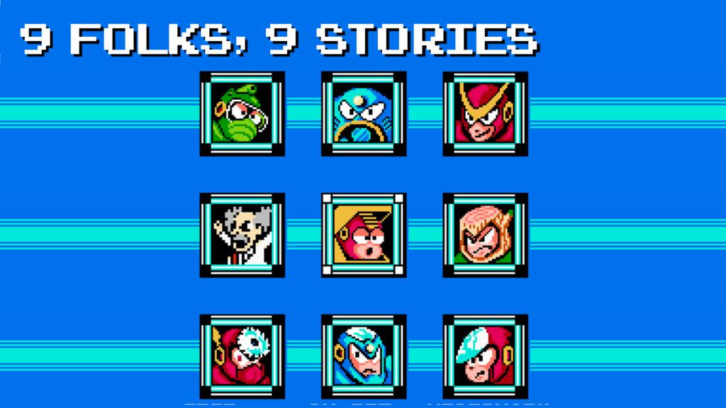 9 folks, 9 stories