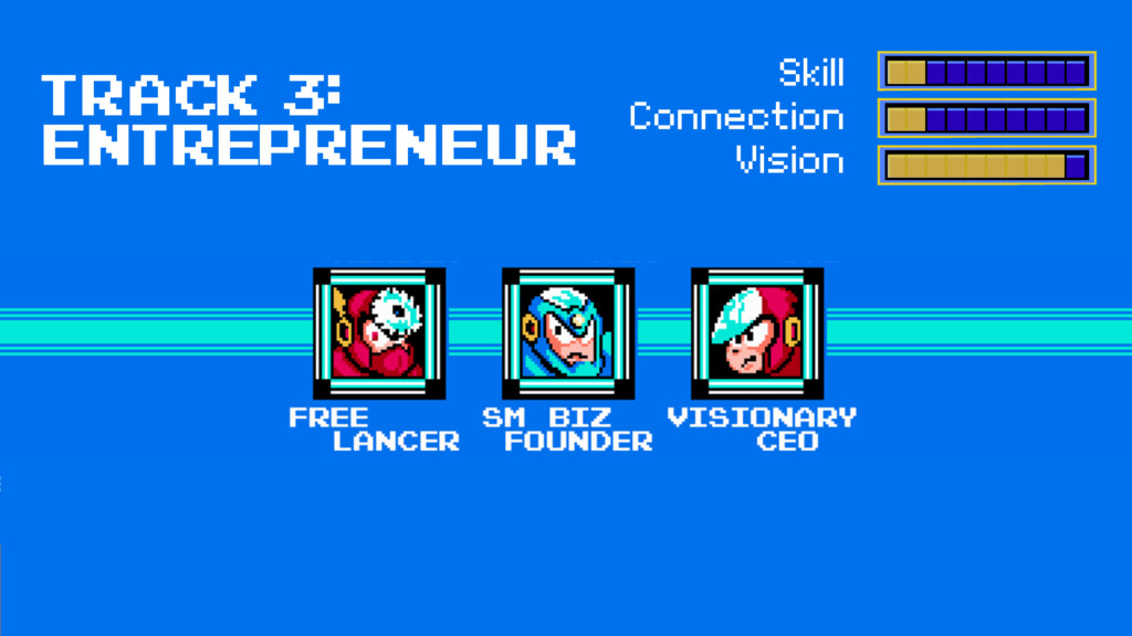 Track 3: entrepreneur Skill Connection Vision