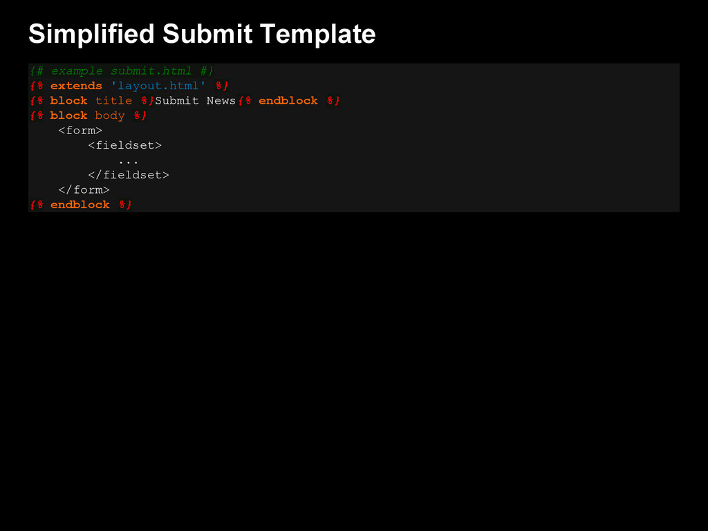 Simplified Submit Template {# example submit.ht...