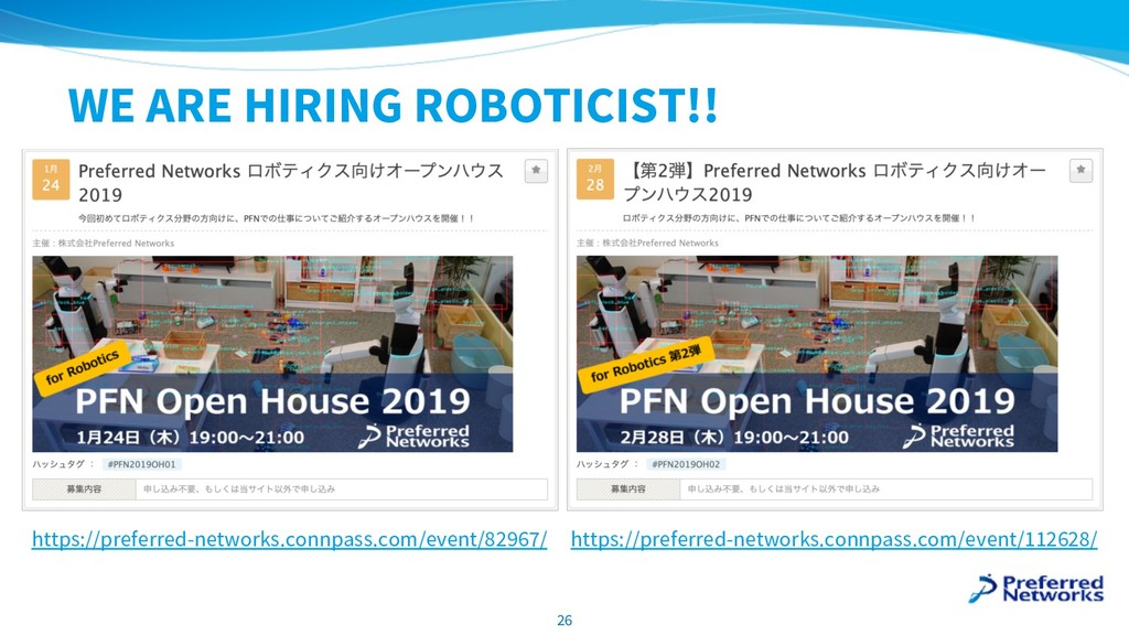 WE ARE HIRING ROBOTICIST!! 26 https://preferred...